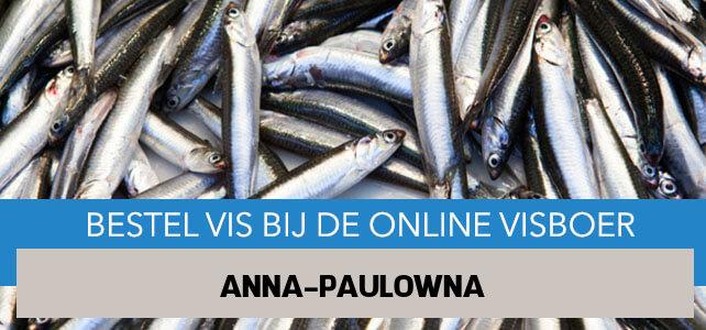 Vis bestellen en laten bezorgen in Anna Paulowna