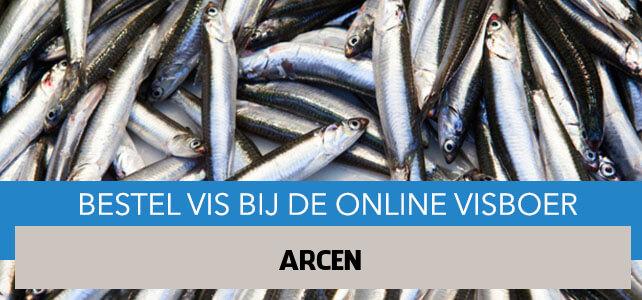 Vis bestellen en laten bezorgen in Arcen