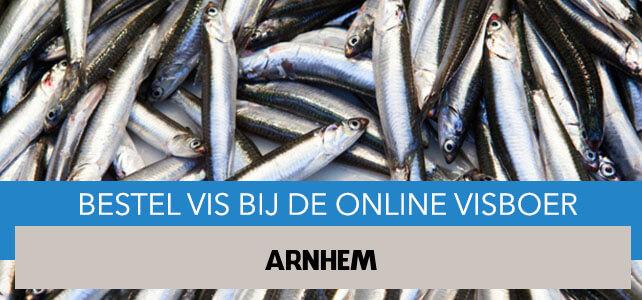 Vis bestellen en laten bezorgen in Arnhem
