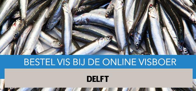 Vis bestellen en laten bezorgen in Delft