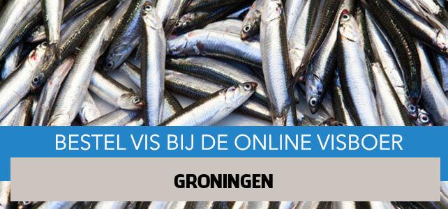Vis bestellen en laten bezorgen in Groningen