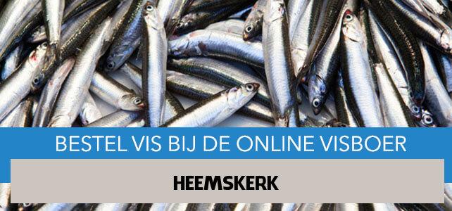 Vis bestellen en laten bezorgen in Heemskerk