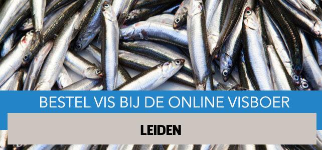Vis bestellen en laten bezorgen in Leiden
