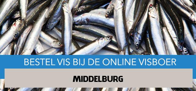 Vis bestellen en laten bezorgen in Middelburg