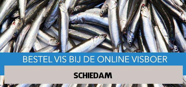 Vis bestellen en laten bezorgen in Schiedam